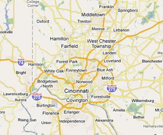 Cincinnati Blue Ash Montgomery Indian Hill West Chester